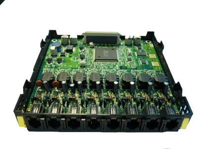 Panasonic karta 8 digitálnych pobočiek (až 16 pobočiek pri použití D-XDP); pre KX-TDA30/15CE