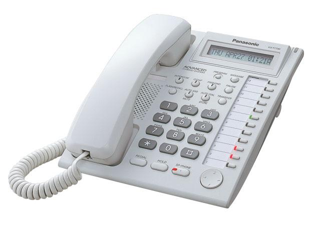 Panasonic analógový systémový telefón KX-T7730CE s displejom