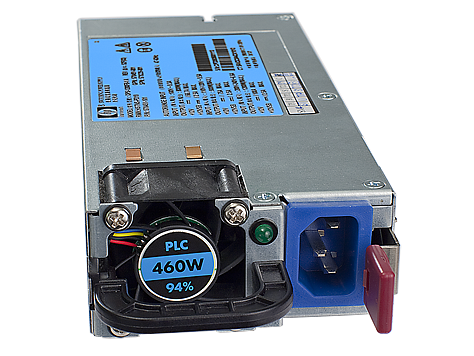 HP 460W HE 12V Hotplg AC Pwr Supply Kit