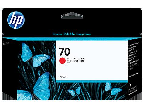 HP No 70 Ink Cart/130 ml red