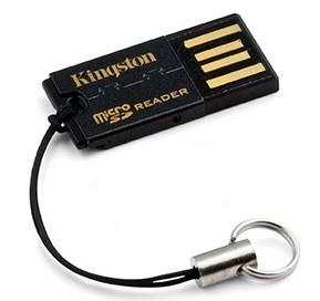 Kingston USB MicroSD čítačka G2
