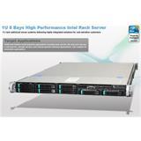 Intel® 1U Server System R1208GZ4GCSAS Grizzly Pass) S2600GZ4 board 1U 8xHS 2x750W