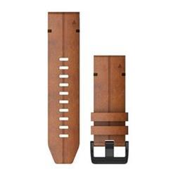 Kožený remienok QuickFit™ 26 na zápästie fénix 6X - Chestnut Leather (ND)