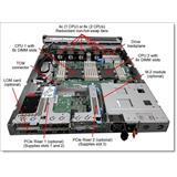 Lenovo ThinkSystem ThinkSystem SR530/SR570/SR630 x8/x16 PCIe LP+FH Riser 1 Kit