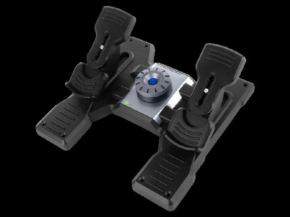 Logitech® G Saitek PRO Flight Rudder Pedals - N/A - EMEA