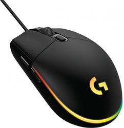 Logitech® G102 2nd Gen LIGHTSYNC Gaming Mouse - BLACK - USB - N/A - EER