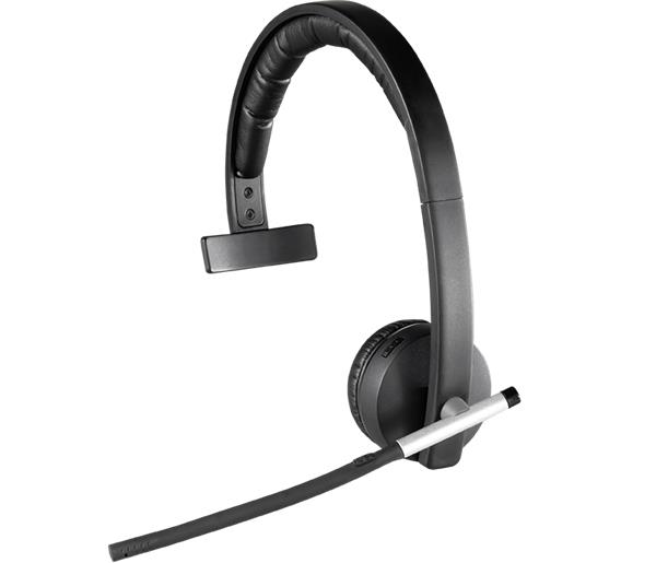 Logitech® H820e Wireless Headset Mono - N/A - EMEA28
