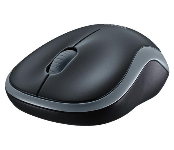 Logitech® M185 Wireless Mouse - SWIFT GREY - 2.4GHZ