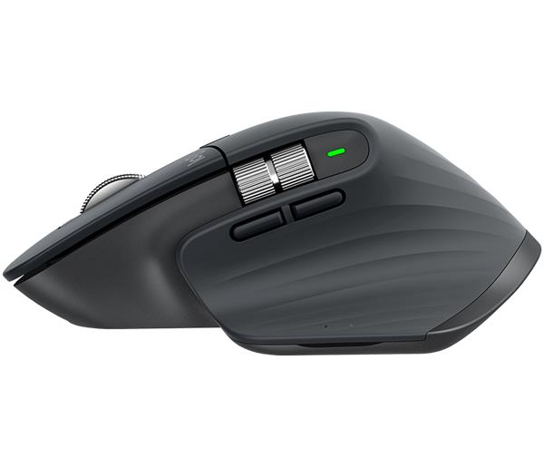 Logitech® MX Master 3 Advanced Wireless Mouse - BLACK - 2.4GHZ/BT