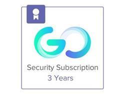 Meraki Go Security Subscription - 3 Year