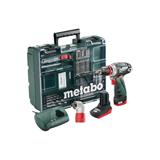 Metabo PowerMaxx BS Quick Pro Set Mobilná dielňa