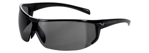 ac51be65d Okuliare Univet 5X4, čierny rám, dymové sklá s povrchovou vrstvou proti  poškriabaniu a zahmlievaniu, UV400, na šoférovan