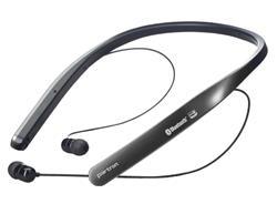 Partron PBH-200 bezdrôtové slúchadlá s mikrofónom, Bluetooth, do uši - čierno šedé
