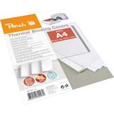 Peach Thermal Binding Covers A4 1.5mm white