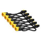 Power Cord Kit (6 ea), Locking, C19 to C20, 1.2m