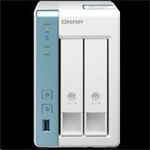 QNAP™ TS-231P3 2 Bay NAS, 3.5, Alpine AL-314, 4-core,1.7GHz, 2GB DDR3 RAM, 2.5Gb LAN