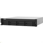 QNAP™TS-832PXU-4G 8bay 4GB 2xLAN ,2 x 10GbE SFP+ , iSCSI redundant PSU