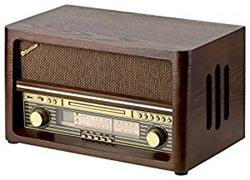 ROADSTAR ROADSTAR WOODEN STYLE HOME ANALOGIC AM-FM RADIO, B.TOOTH