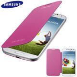Samsung flipové púzdro pre Galaxy S IV (i9505), ružové
