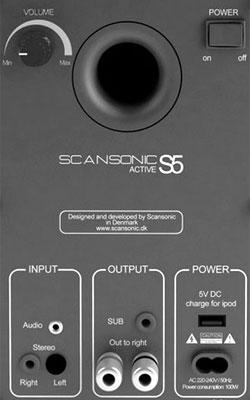 854dead4c Scansonic S5 - aktívne HiFi bluetooth reproduktory, opticky vstup ...