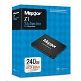 """Seagate / Maxtor SSD Z1 240GB, 2.5"""" SATA 6Gb/s, Read/Write: 540/425MB/s"""
