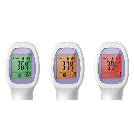 Solight Bezkontaktný teplomer pre meranie teploty ľudského tela, vysoko presný