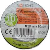 Solight izolačná páska, 30mm x 0,13mm x 10m, čierna