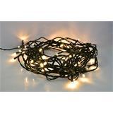 Solight LED vianočná reťaz, 300 LED, 30m, prívod 5m, IP44, teplá biela