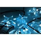 Solight LED vianočná reťaz, hviezdy, 20 LED, 3m, prívod 3m, IP20, modrá