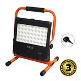 Solight LED vonkajší reflektor so stojanom, 50W, 4250lm, kábel so zástrčkou, AC 230V