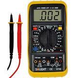 Solight multimeter, test diódy, test batérie, ochrana proti preťaženiu, bzučiak