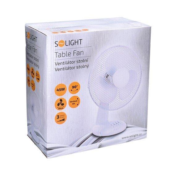 Solight Ventilátor stolný 30cm