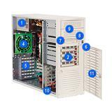Supermicro® CSE-733T-650B MidiTower