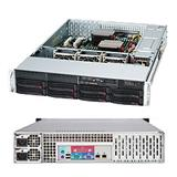 "Supermicro® CSE-825TQC-R1K03LPB chassis 8x 3,5"" HS SAS3/SATA, 2x1000W (80PLUS Titaninum)"