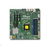 Supermicro X11SSL-F 1xLGA1151, iC232,DDR4,6xSATA3,PCIe 3.0 (1 x8, 1 x8 (in x16), 1 x4 (in x8)), IPMI (bulk)