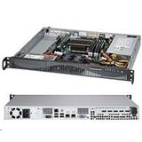 "SupermicroServer SYS-5038D-FN4Tmini1U server 1x FCBGA1667 Xeon D-1540, 4x DDR3 ECC , 2x Fix SATA (3,5""), 200W,IPMI"