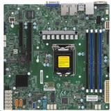 SupermicroX11SCH-F Single Socket H4 (LGA 1151), 8 SATA3 (6Gbps); RAID 0, 1, 5, 10; 2x 1GbE LAN with Intel I210-AT; 1 PCI