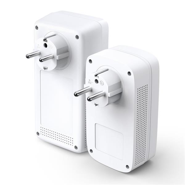 "TP-LINK ""AV1300 Gigabit Passthrough Powerline AC1200 Wi-Fi KitKIT: 1× TL-WPA8631P + 1× TL-PA8010PTL-WPA8631P:SPEED: 3"