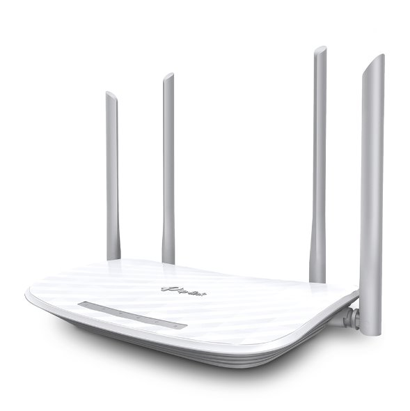 TP-LINK AX1800 Dual-Band Wi-Fi 6 Router, 574 Mbps at 2.4 GHz + 1201 Mbps at 5 GHz, 4× Antennas, 1× Gigabit WAN Port + 4×