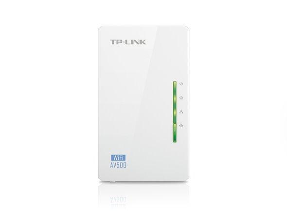 TP-LINK TL-WPA4220 AV600 Powerline Extender, Qualcomm,300Mbps at 2.4GHz,600Mbps Powerline