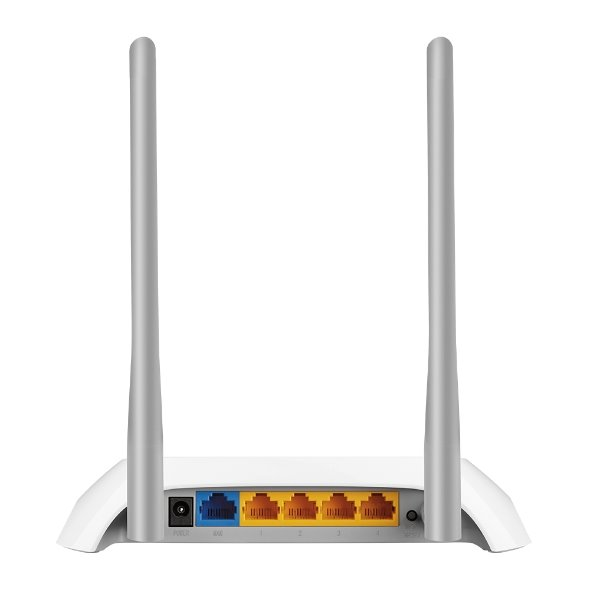 TP-LINK TL-WR840Nv6,2 N300 Wi-Fi Router, 300Mbps at 2.4GHz, 5 10/100M Ports, 2 antennas
