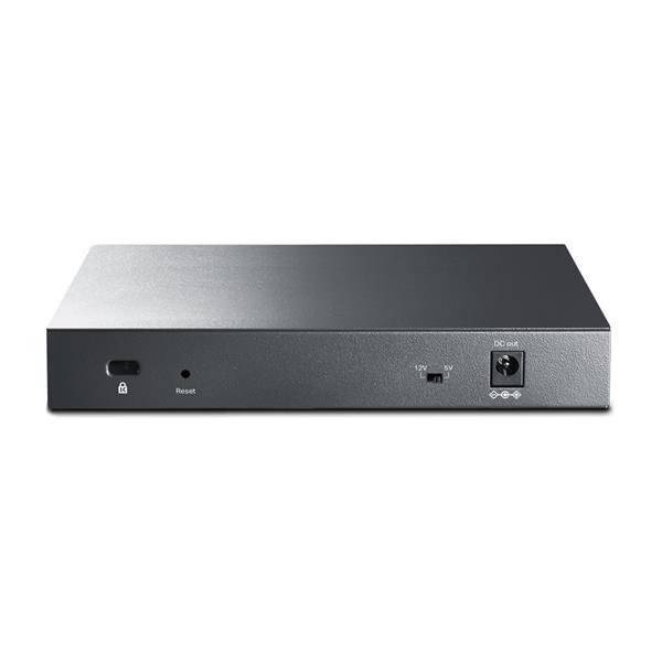 "TP-LINK TP-LINK ""8-Port Gigabit Managed Reverse PoE SwitchPORT: 7× Gigabit Passive PoE In Ports, 1× Gigabit Passive PoE"