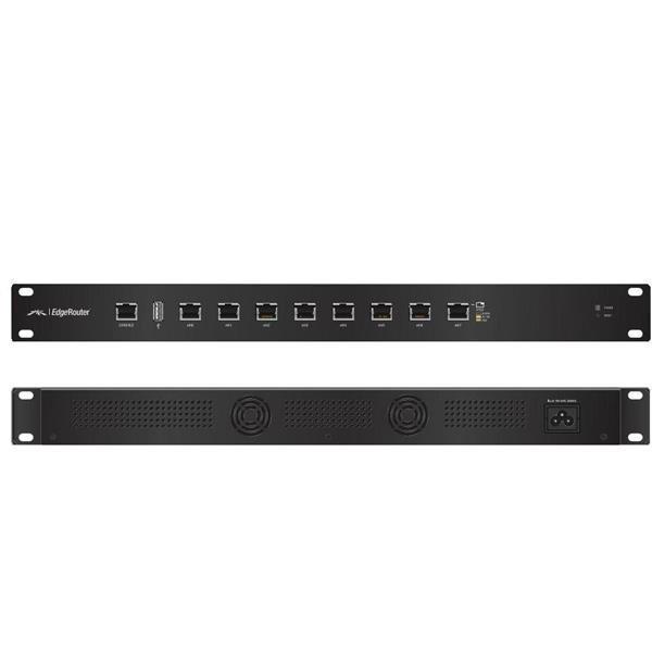 Ubiquiti EdgeRouter 8x 1000Mbps rack