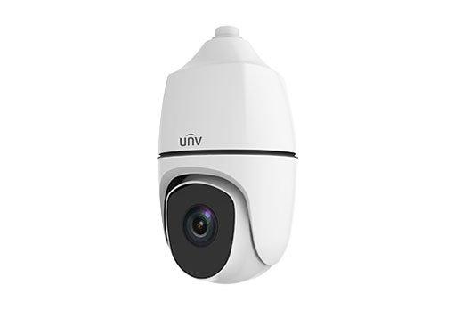UNIVIEW IP kamera 3840x2160 (8 Mpix) až 30 sn/s, H.265, zoom 38x (61.2-2.3°), PoE++ 802.3bf, AC/DC24V DI/DO, audio, BNC