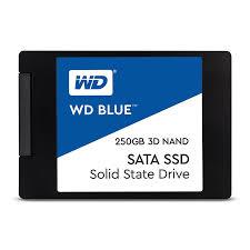 "WD Blue 250GB SSD SATA III 6Gbs, 2,5"" (7 mm) ( r550MB/s, w525MB/s )"