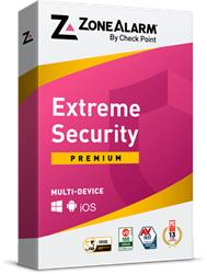 ZoneAlarm Extreme Security Yearly subscription for 1 + 1 Device